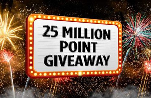25 Million Point Giveaway